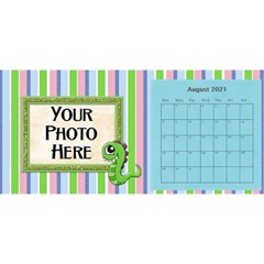 2015 Monster Party 11x5 Calendar By Lisa Minor   Desktop Calendar 11  X 5    87mx28nsn83f   Www Artscow Com Aug 2015