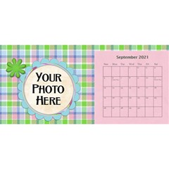 2015 Monster Party 11x5 Calendar By Lisa Minor   Desktop Calendar 11  X 5    87mx28nsn83f   Www Artscow Com Sep 2015