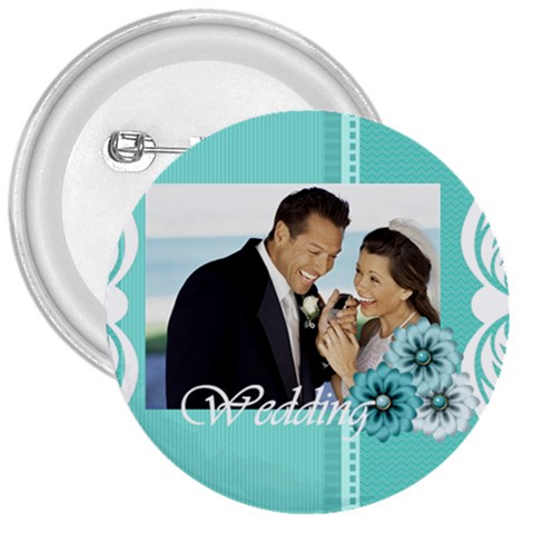 Wedding By Wedding   3  Button   Q1jn0win0bjr   Www Artscow Com Front