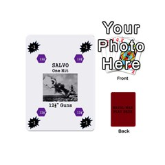 Naval War Play Deck 1 By Scott Hill   Playing Cards 54 Designs (mini)   Vooaeqnj0rdm   Www Artscow Com Front - Heart3