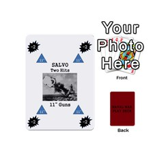 Naval War Play Deck 1 By Scott Hill   Playing Cards 54 Designs (mini)   Vooaeqnj0rdm   Www Artscow Com Front - Heart7