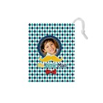 Drawstring Pouch (S) : Little Man - Drawstring Pouch (Small)