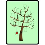 Photo Tree, Family tree blanket L - Fleece Blanket (Large)