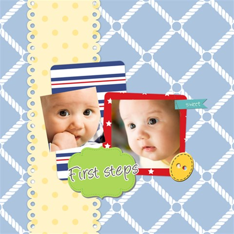 Baby By Baby   Scrapbook Page 12  X 12    B7cu8uyfy4bv   Www Artscow Com 12 x12 Scrapbook Page - 1