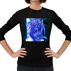 Water Nymph Women s Long Sleeve T Shirt (dark Colored) by icarusismartdesigns