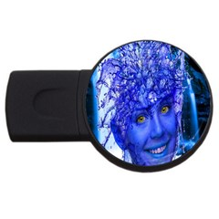 Water Nymph 4gb Usb Flash Drive (round) by icarusismartdesigns