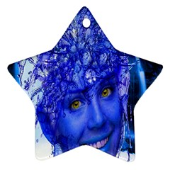 Water Nymph Star Ornament (two Sides) by icarusismartdesigns