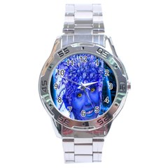 Water Nymph Stainless Steel Watch by icarusismartdesigns