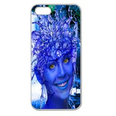Water Nymph Apple Seamless Iphone 5 Case (clear)