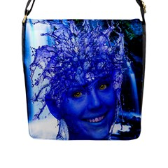 Water Nymph Flap Closure Messenger Bag (large) by icarusismartdesigns