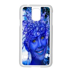 Water Nymph Samsung Galaxy S5 Case (white) by icarusismartdesigns