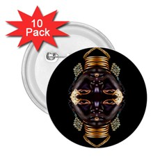 African Goddess 2 25  Button (10 Pack) by icarusismartdesigns