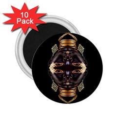 African Goddess 2 25  Button Magnet (10 Pack)