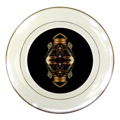 African Goddess Porcelain Display Plate by icarusismartdesigns