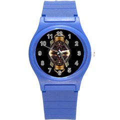 African Goddess Plastic Sport Watch (small) by icarusismartdesigns