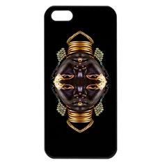African Goddess Apple Iphone 5 Seamless Case (black) by icarusismartdesigns