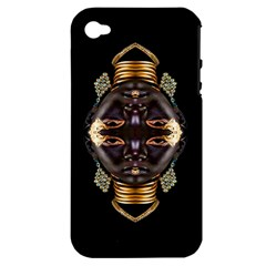 African Goddess Apple Iphone 4/4s Hardshell Case (pc+silicone) by icarusismartdesigns