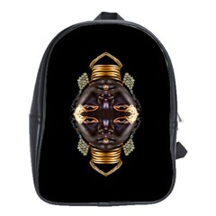 African Goddess School Bag (xl) by icarusismartdesigns