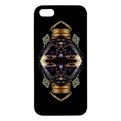 African Goddess Apple Iphone 5 Premium Hardshell Case by icarusismartdesigns