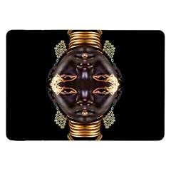 African Goddess Samsung Galaxy Tab 8 9  P7300 Flip Case