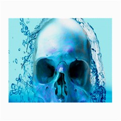 Skull In Water Glasses Cloth (small)