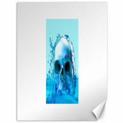 Skull In Water Canvas 36  X 48  (unframed) by icarusismartdesigns
