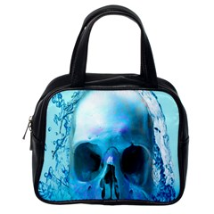 Skull In Water Classic Handbag (one Side)