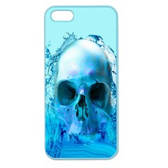 Skull In Water Apple Seamless Iphone 5 Case (color) by icarusismartdesigns
