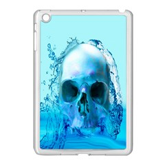 Skull In Water Apple Ipad Mini Case (white) by icarusismartdesigns