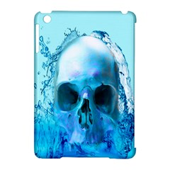 Skull In Water Apple Ipad Mini Hardshell Case (compatible With Smart Cover) by icarusismartdesigns
