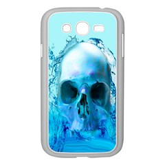 Skull In Water Samsung Galaxy Grand Duos I9082 Case (white) by icarusismartdesigns