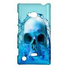Skull In Water Nokia Lumia 720 Hardshell Case by icarusismartdesigns