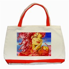 Tears Of Blood Classic Tote Bag (red) by icarusismartdesigns