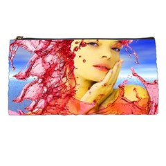 Tears Of Blood Pencil Case by icarusismartdesigns