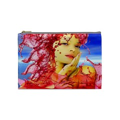 Tears Of Blood Cosmetic Bag (medium) by icarusismartdesigns