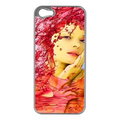 Tears Of Blood Apple Iphone 5 Case (silver) by icarusismartdesigns