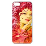 Tears Of Blood Apple Seamless iPhone 5 Case (Clear) Front