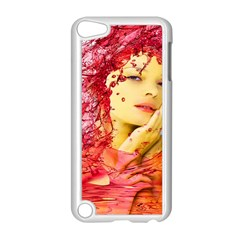 Tears Of Blood Apple Ipod Touch 5 Case (white) by icarusismartdesigns