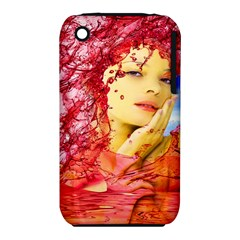 Tears Of Blood Apple Iphone 3g/3gs Hardshell Case (pc+silicone) by icarusismartdesigns