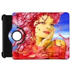 Tears Of Blood Kindle Fire Hd 7  (1st Gen) Flip 360 Case by icarusismartdesigns