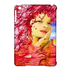 Tears Of Blood Apple Ipad Mini Hardshell Case (compatible With Smart Cover) by icarusismartdesigns