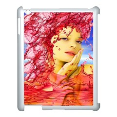Tears Of Blood Apple Ipad 3/4 Case (white) by icarusismartdesigns