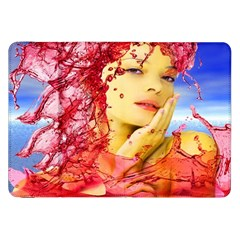 Tears Of Blood Samsung Galaxy Tab 8 9  P7300 Flip Case by icarusismartdesigns