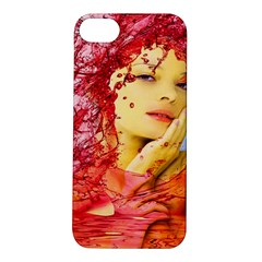 Tears Of Blood Apple Iphone 5s Hardshell Case by icarusismartdesigns
