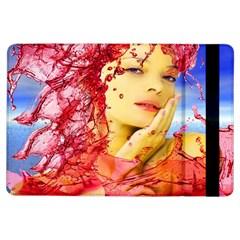 Tears Of Blood Apple Ipad Air Flip Case by icarusismartdesigns