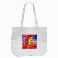 Tears Of Blood Tote Bag (white) by icarusismartdesigns