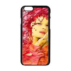 Tears Of Blood Apple Iphone 6 Black Enamel Case by icarusismartdesigns