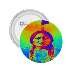 Sitting Bull 2 25  Button by icarusismartdesigns