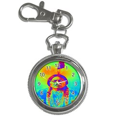 Sitting Bull Key Chain Watch by icarusismartdesigns