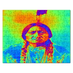 Sitting Bull Jigsaw Puzzle (rectangle)